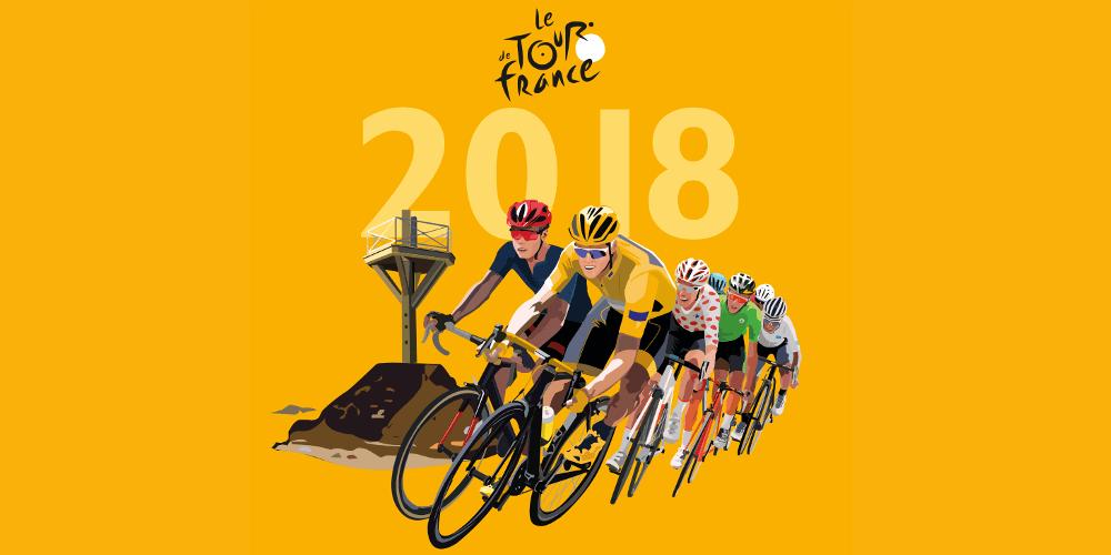 Výsledek obrázku pro tour de france 2018
