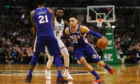 Boston Celtics vs Philadelphia 76ers - NBA