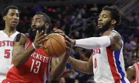 Houston Rockets v Detroit Pistons - NBA