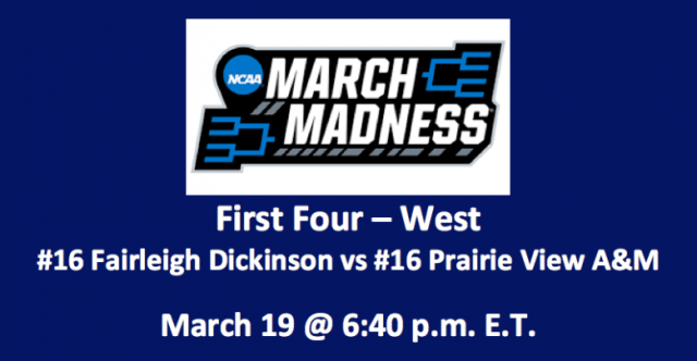 Image result for Fairleigh Dickinson Knights vs. Prairie View A&M Panthers - West Region First Four online