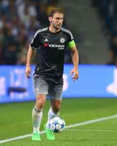 Branislav Ivanovic of Chelsea during the UEFA Champions League Group G match between FC Porto and Chelsea played at Estadio Do Dragao, Porto