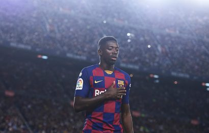 Manchester United start Dembele talks