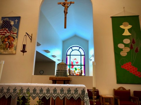 St. Michael the Archangel Church in Oak Grove, Kentucky, near Fort Campbell.