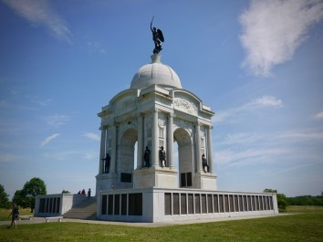 The immense Pennsylvania memorial