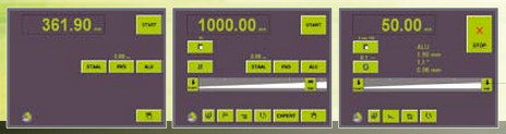 Operazione manuale semplice Operazione manuale estesa Operazione programmata CNC