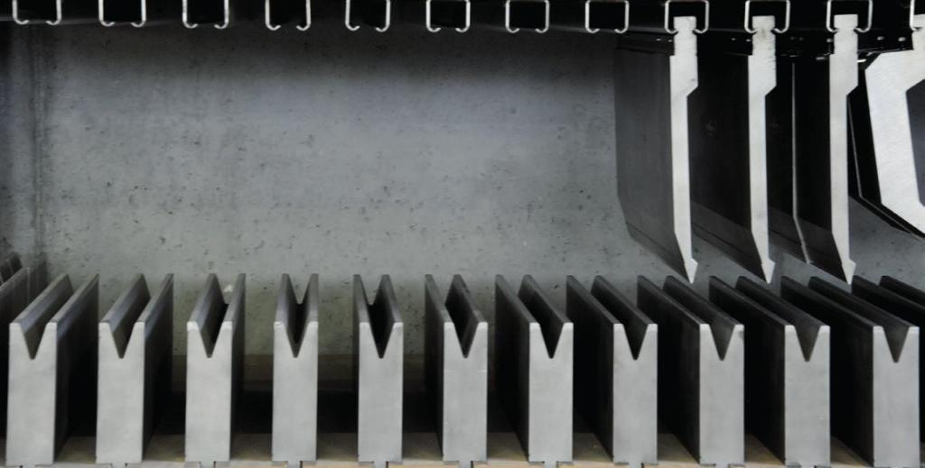 Esempio di lavorazioni industriali con presse piegatrici Safan Darley