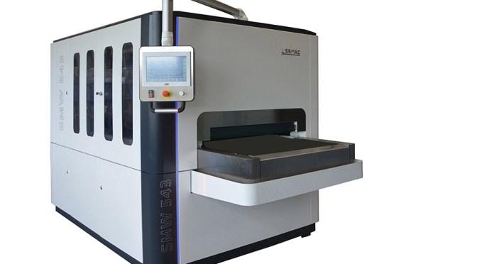 Lissmac SMW 5 macchina per levigatura metalli