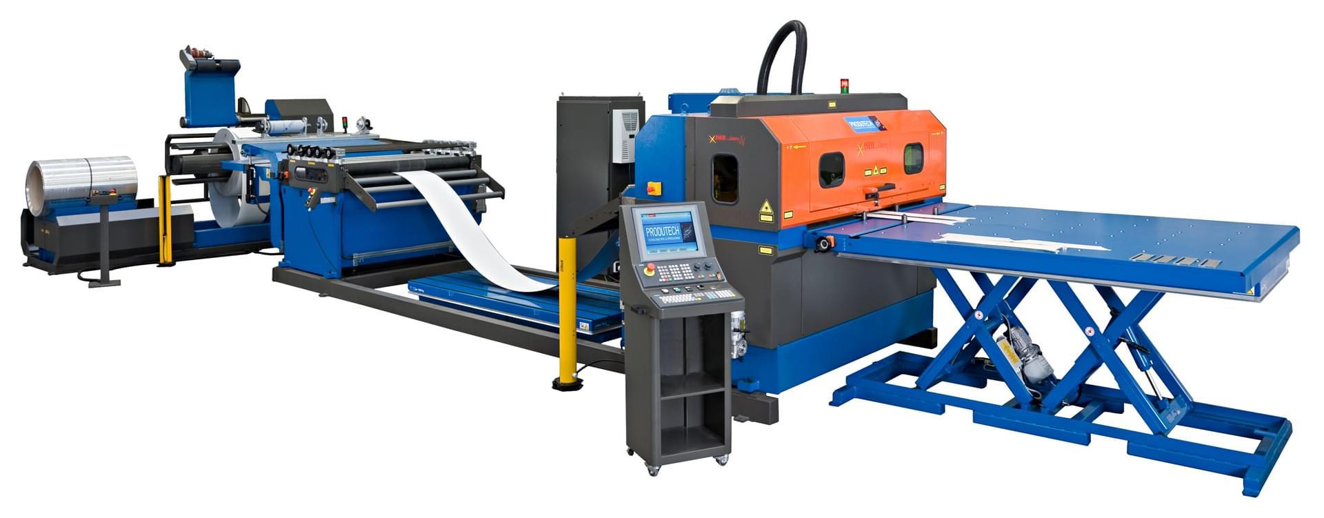 taglio laser da coil ISEO A1 Produtech