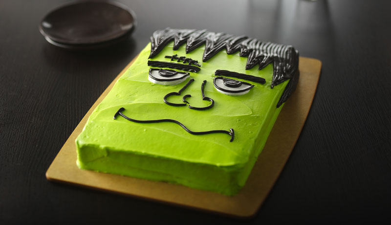 Frankenstein Halloween Cake Easy Halloween Cake Betty