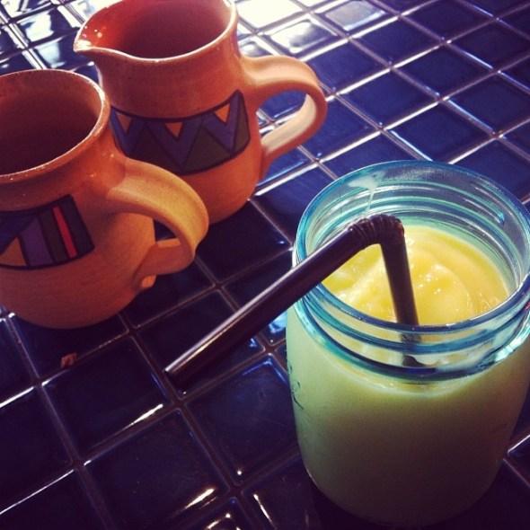 Hipster jar-based drinks.