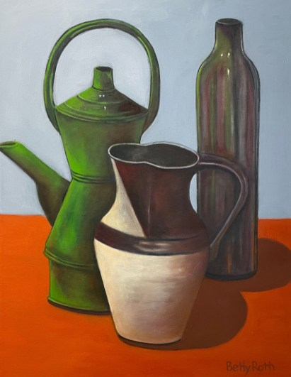 """""""Water Vessels"""" Oil on Canvas, 18""""x24"""""""
