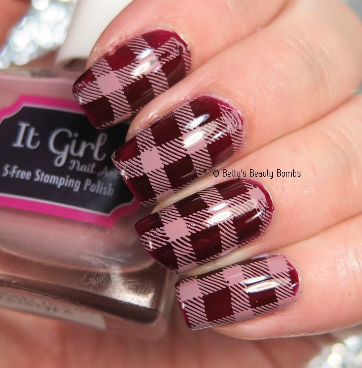 Unusual Nail Polish To Wear With Red Dress Tall Shades Of Purple Nail Polish Clean Cutest Nail Art How To Start My Own Nail Polish Line Youthful Foot Nails Fungus SoftWhere To Buy Opi Gelcolor Nail Polish Plaid Nail Art Stamping   Lazy Betty