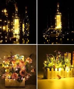 Wine Bottles Cork String Lights