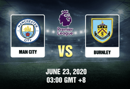 Man City vs Burnley Prediction - 6/23/20 - Tips & Preview