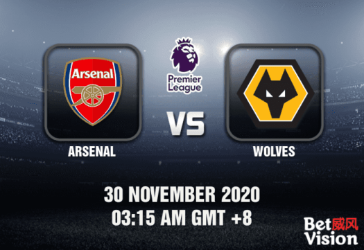 Arsenal v Wolves Match Prediction - EPL - 30/11/20
