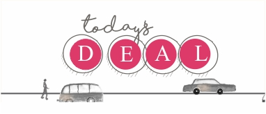 Daily Deals for the jewish mom. Who doesnt love a good deal. Find daily deals on www.betweencarpools.com