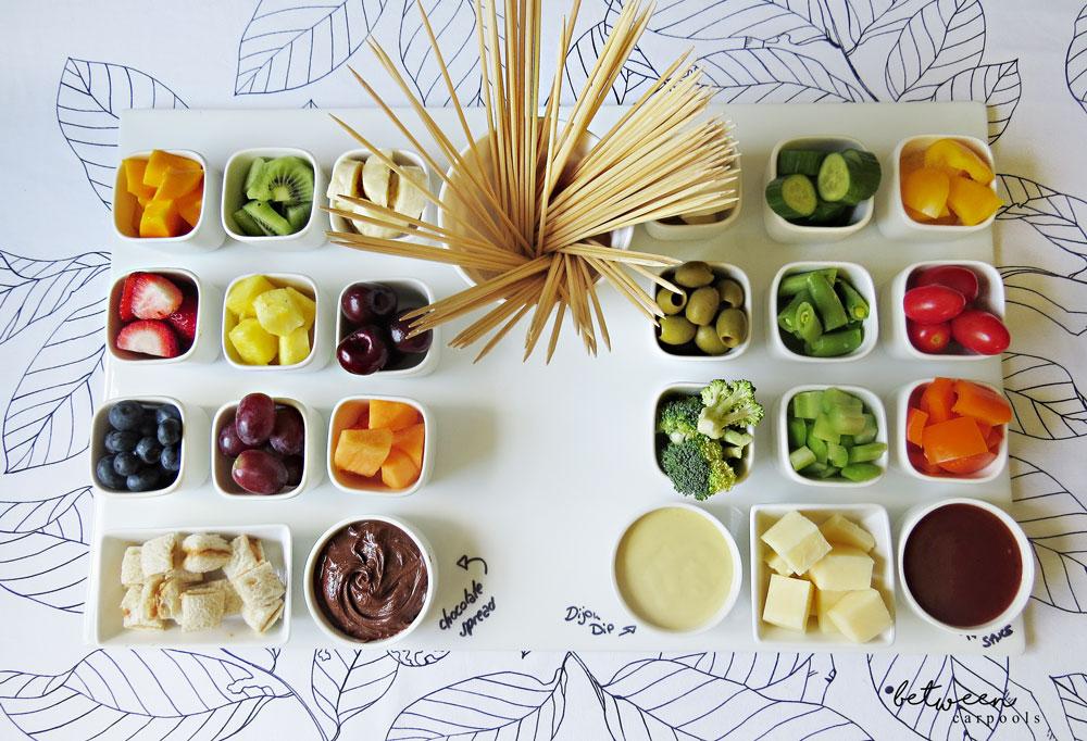 Fruit & Veggie Dipping Board