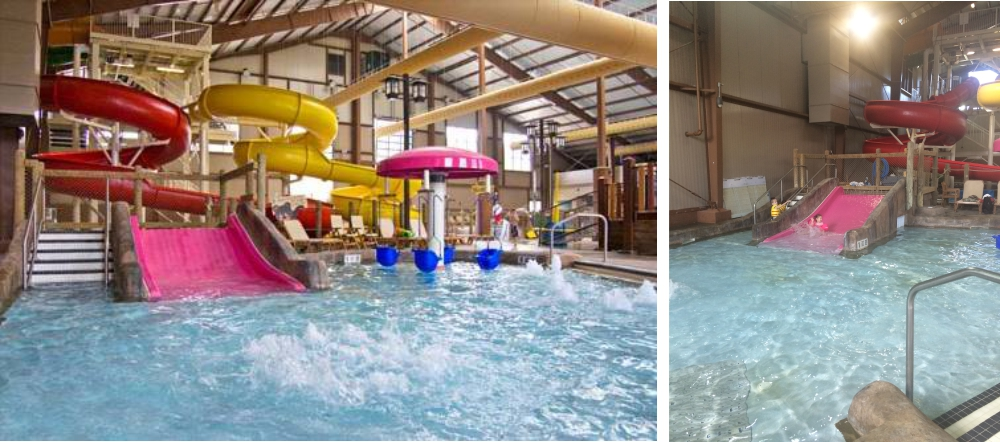 Why I love to go to Hope Lake Lodge Water Park with my family