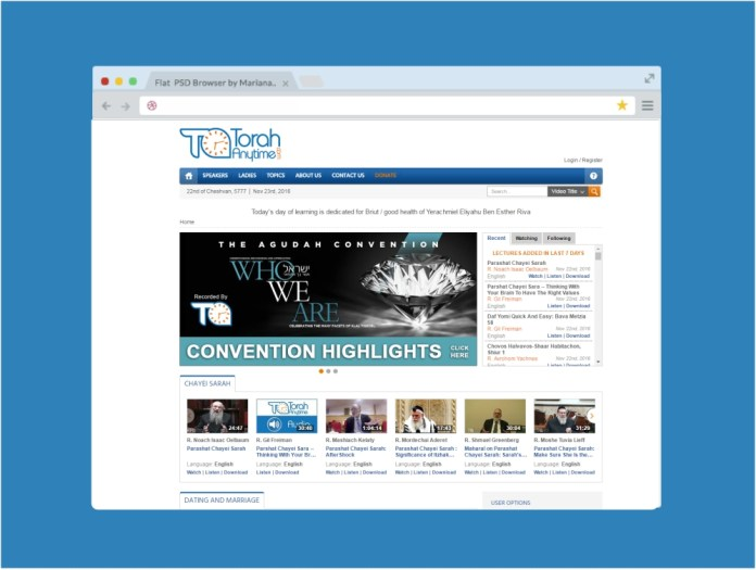 From dates and times to quick dvar Torahs...you can find lots of Jewish conveniences online! Nine Jewish Websites you will need in your life. Find more on betweencarpools the perfect lifestyle blog for every Jewish woman. Torah Anytime.