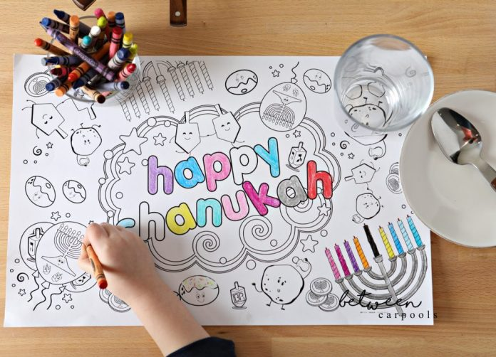 Chanukah Coloring Pages. Your Chanukah party entertainment is done! Stock up on crayons and the kids will be busy all evening long