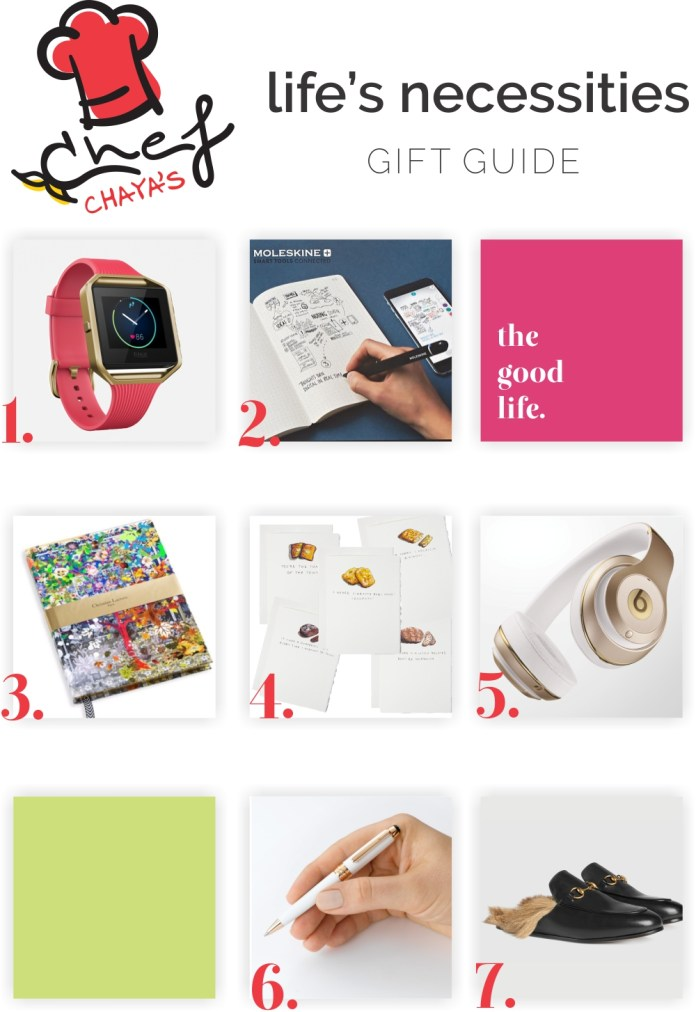 Chef Chaya's exclusive Chanuka Gift Guide for Betweencarpools.com - a lifestyle blog for the busy Jewish Woman
