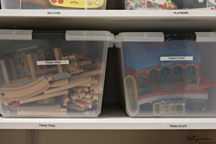 My Labeling Obsession. Last Stops: The Pantry & The Toy Closet