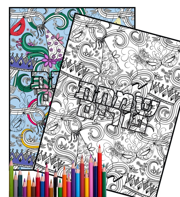 Dowbload and Print free Purim coloring pages for Purim.