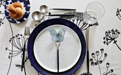 Shavuos DIY place card setting. Download print and color your own custom butterfly placecard holders.