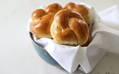 """The 116-Calorie (AKA """"Portion Control"""") Challah Roll . You love challah. You really, really never want to give up challah. But you also want that diet to work. Now you can have both."""