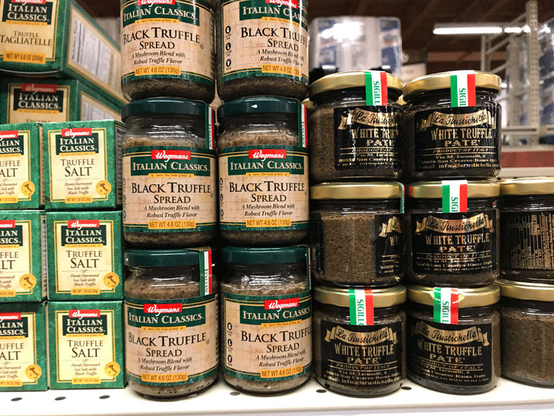 Kosher Truffle Spread. Kosher Supermarkets vs. Mainstream Supermarkets. I like to shop at both, and here's why. I love the convenience of kosher supermarkets. But I'm not giving up my mainstream markets. Here's some reasons why.