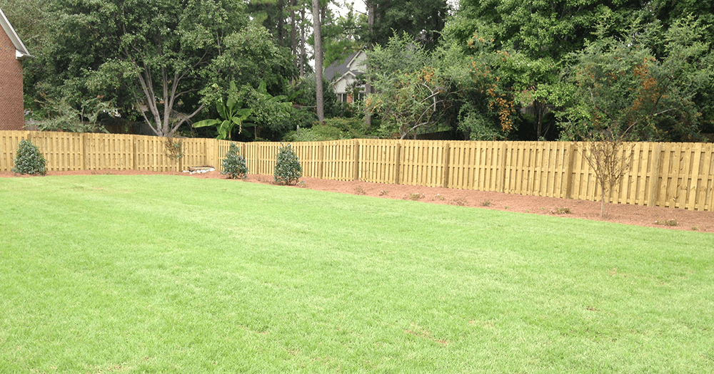 SodIrrigation Installation Landscaping Lawn Care And Retaining Walls Between The Edges