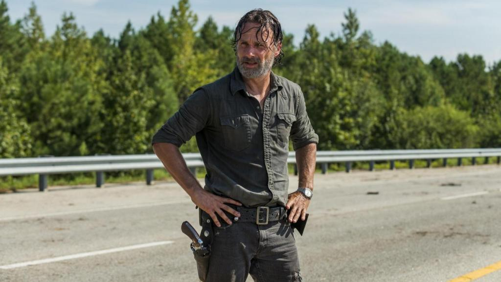 the walking dead season 7 episode 9 rock in the road rick