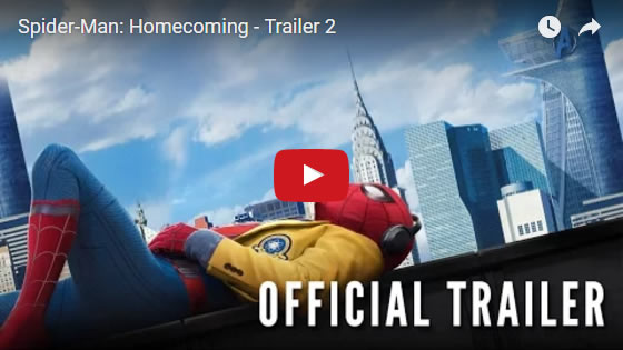 #SpidermanHomeComing new trailer March 2017