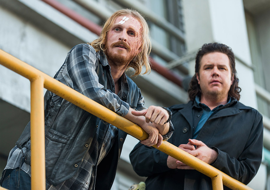 The Walking Dead: Season 7, episode 11: Hostiles and Calamities - Eugene & Dwight