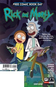 Rick & Morty Comics - Free Comic Book Day comic