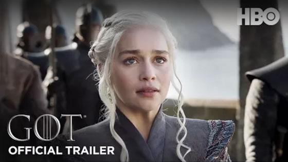 Game of Thrones Season 7 Official Trailer