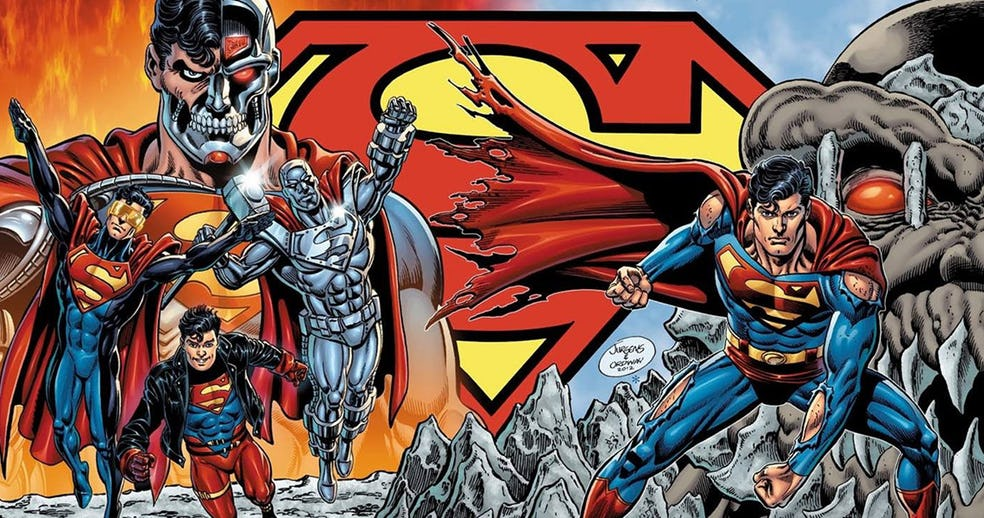 Death of Superman, Reign of the Supermen Animated Films in the Works