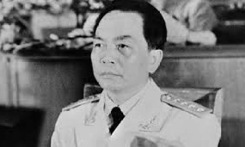 Vietnamese General secured his place in history as one of the  20th century's most notable military commanders by defeating the French in 1954 and the United Sates in 1973. Learned technics of guerrilla warfare in campaign to rid Vietnam of the Japanese during WWII. The General lived until age 102 as perhaps the most revered Vietnamese figure next to Ho Chi Minh.