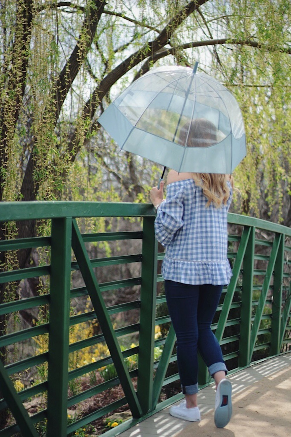 gingham top spring style