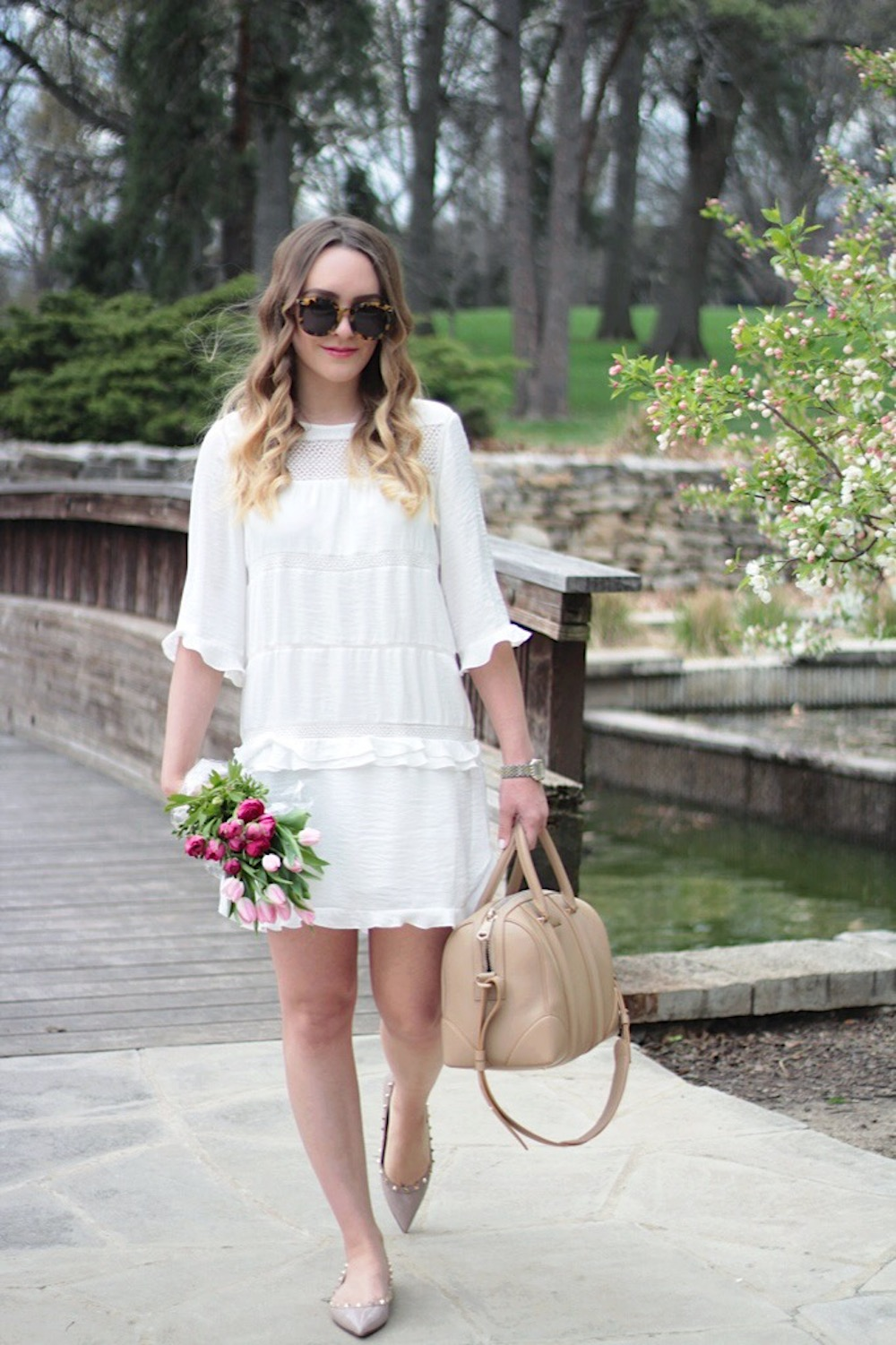 white lace dress rachel puccetti