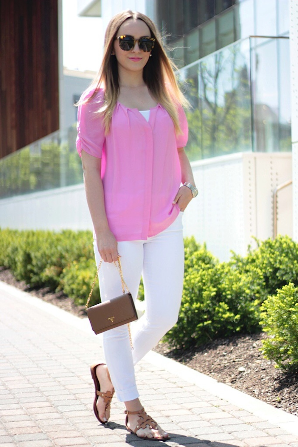 dressy casual look