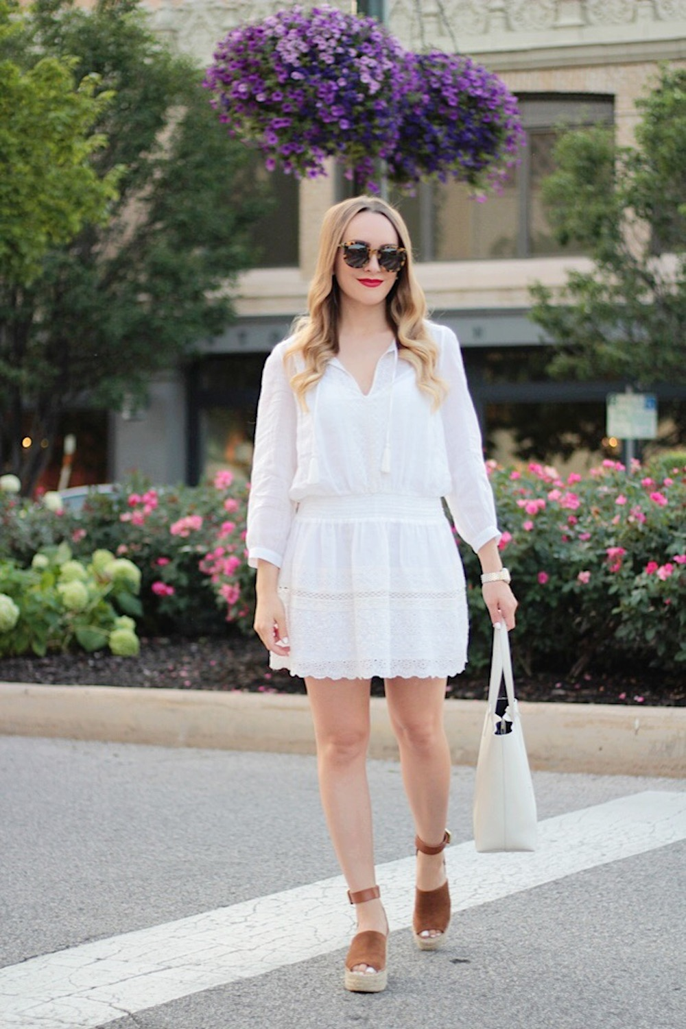nordstrom white joie dress