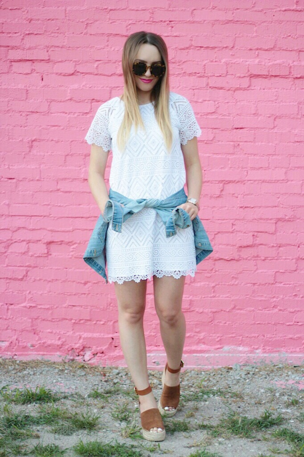 white madewell dress fashion blogger