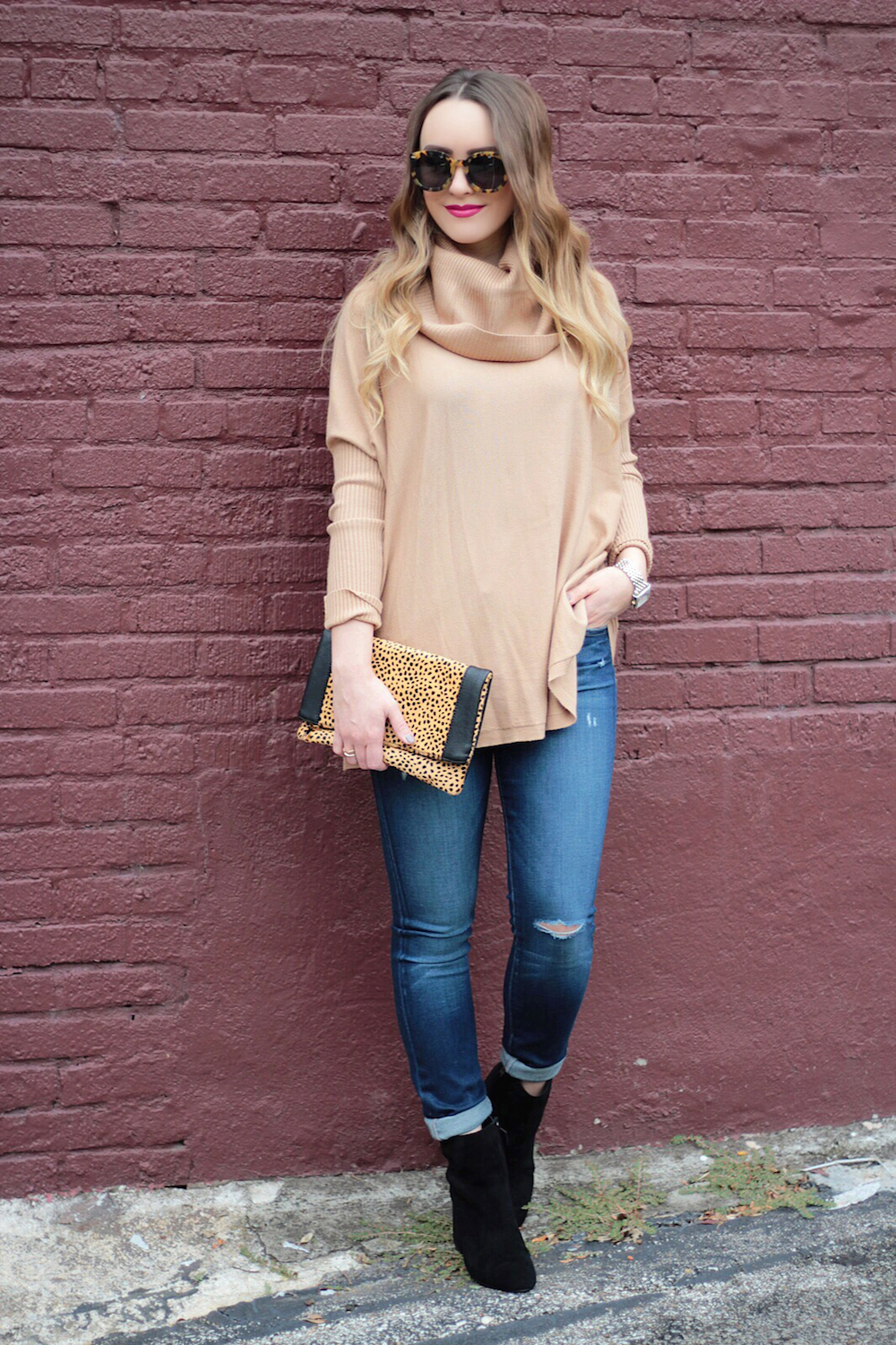 fall cowl neck sweaters rachel puccetti between two coasts