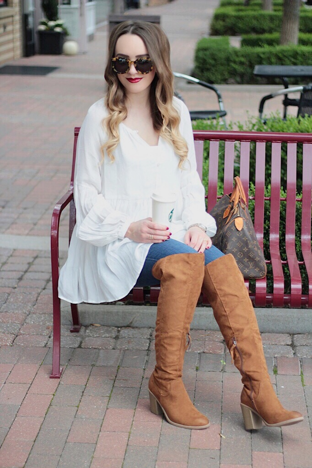 fall style over the knee boots rachel puccetti between two coasts