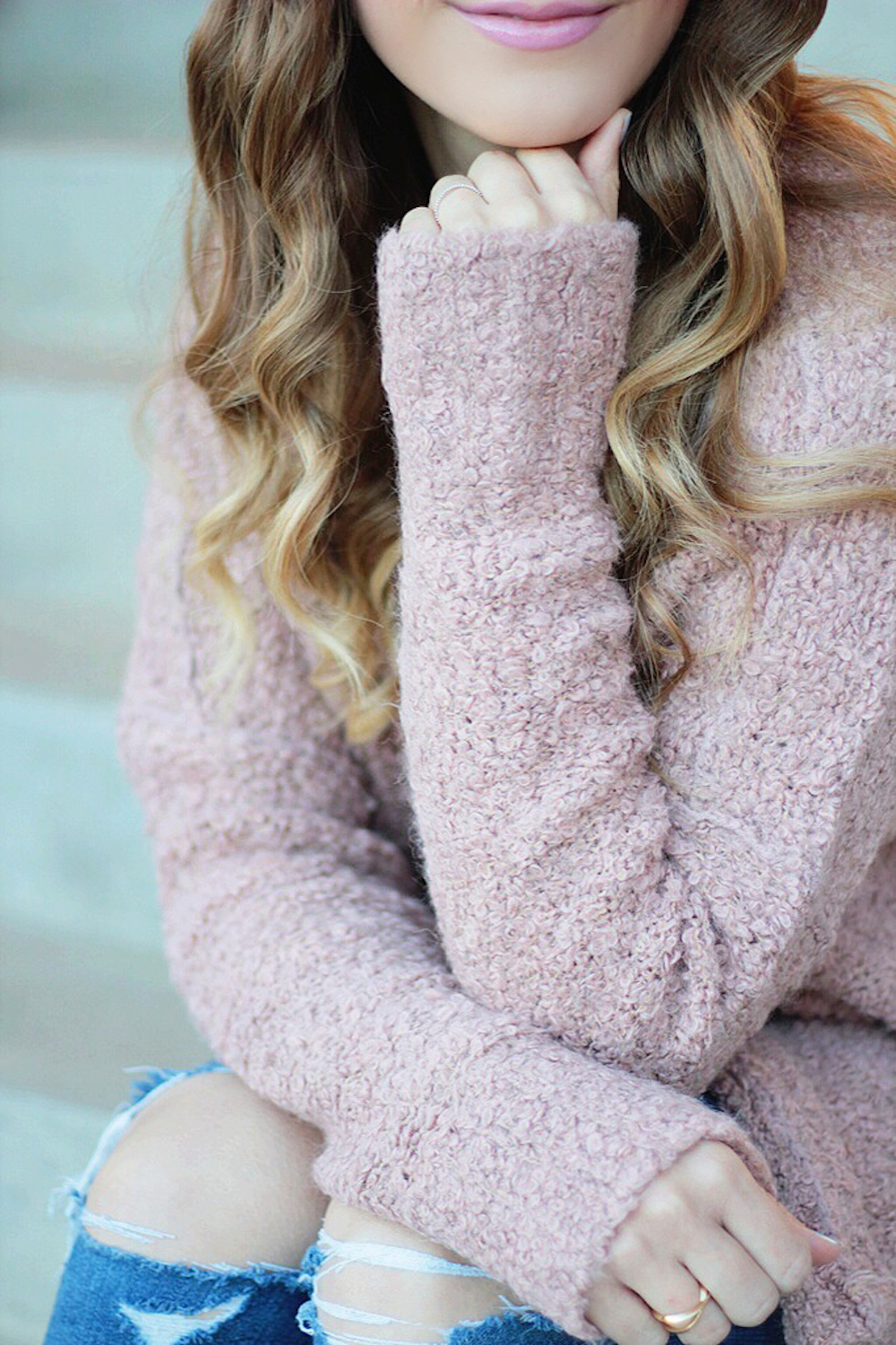cozy sweater rachel puccetti between two coasts