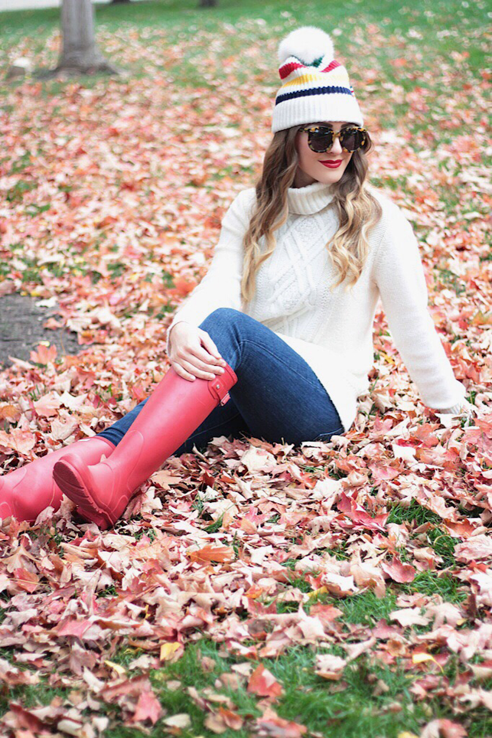 fall fashion cable knit sweater rachel puccetti