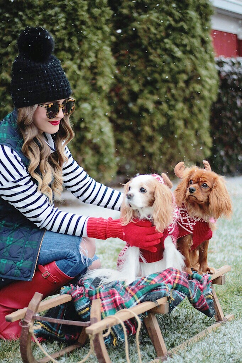 christmas style rachel puccetti between two coasts