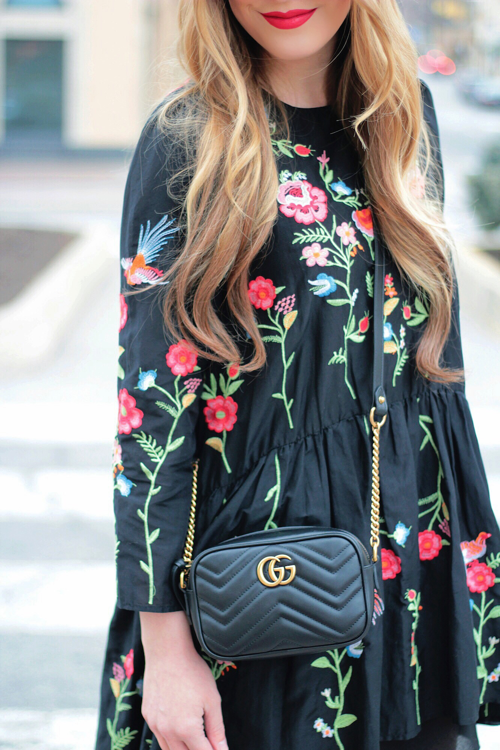 embroidered floral dress rachel puccetti between two coasts