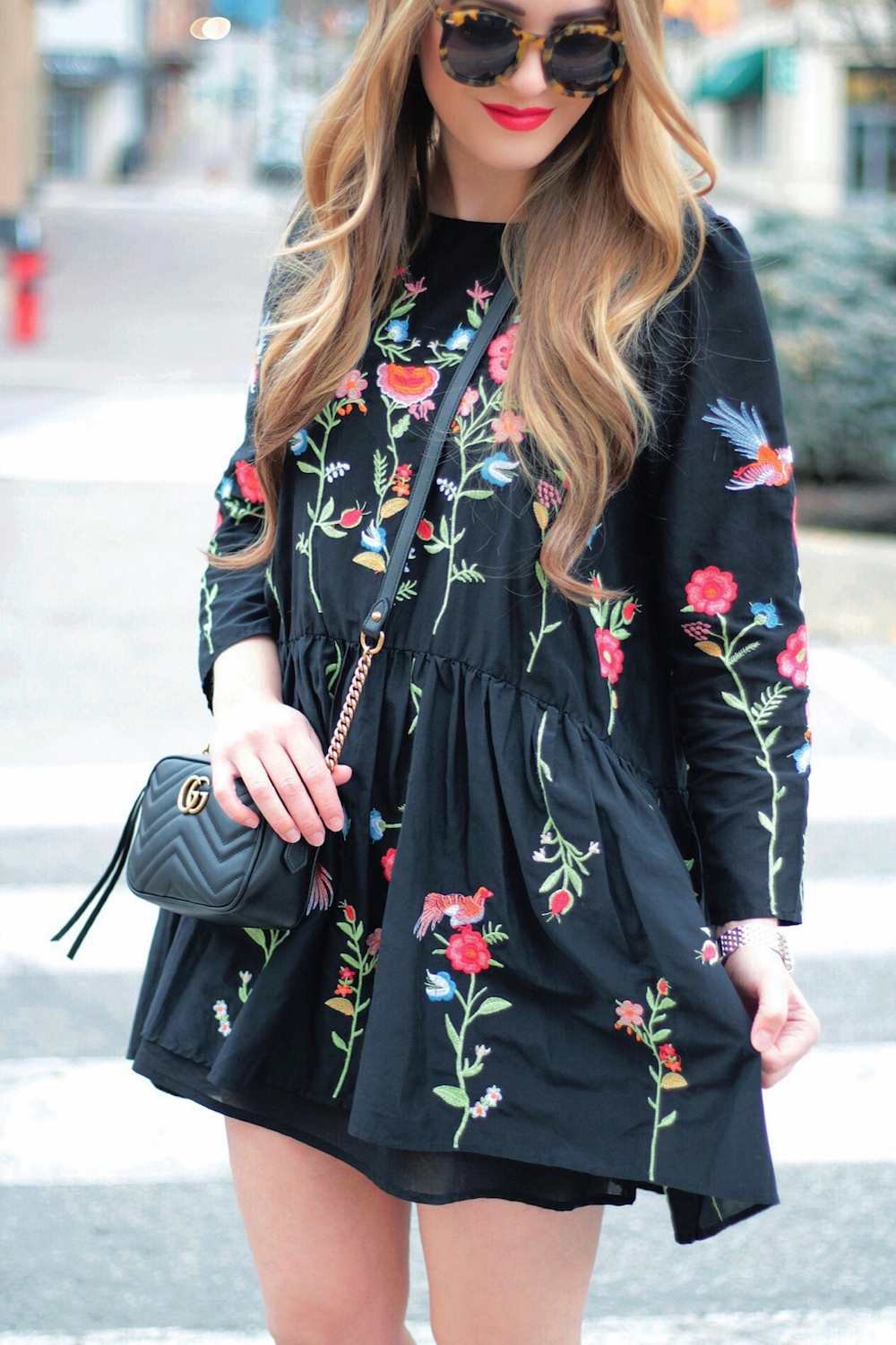 floral embroidered dress rachel puccetti between two coasts